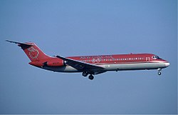 DC-9 der New York Air