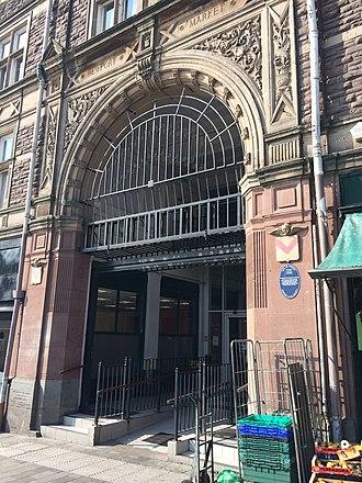 Newport Market - Image: Newport Market Entrance