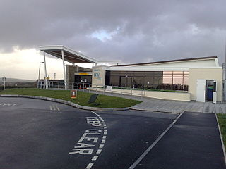 Newquay Airport airport in the United Kingdom