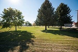 Newton, Utah - Park in Newton, September 2012