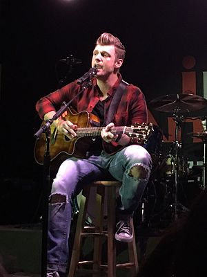 Nick Carter (musician) - Carter performing at iPlay America in Freehold, New Jersey in March 2016