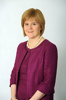 Portrait de Nicola Sturgeon (2011).
