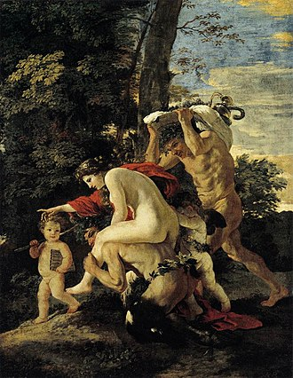 Gemäldegalerie Alte Meister (Kassel) - Image: Nicolas Poussin Bacchic Scene WGA18268