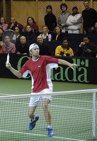 San Luis Open Challenger Tour - Canada's Frédéric Niemeyer partnered Alex Bogomolov, Jr. for a 2003 victory in the doubles event