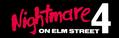 Nightmare on Elm Street 4 Schriftzug.png