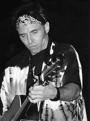 Nils Lofgren - Nils Lofgren playing in Ronnie Scotts in 1997