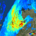 Nitrogen dioxide over the Netherlands (TROPOMI, 2017-12-01).png