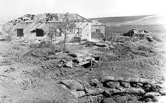 Nitzanim - Homes in Nitzanim destroyed in the Arab–Israeli War