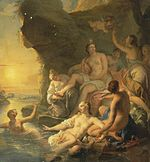 Noël-Nicolas Coypel - The Bath of Diana - WGA05594.jpg