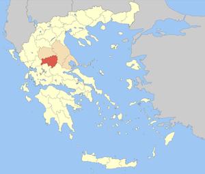 Karditsa (regional unit) - Image: Nomos Karditsas