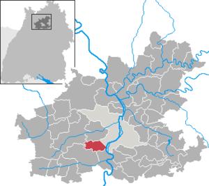 Nordheim, Baden-Württemberg - Image: Nordheim in HN