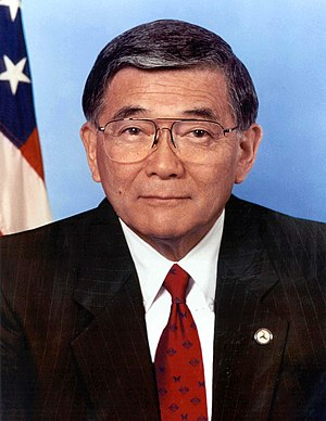 San Jose High School - Image: Norman Mineta, official portrait, DOT