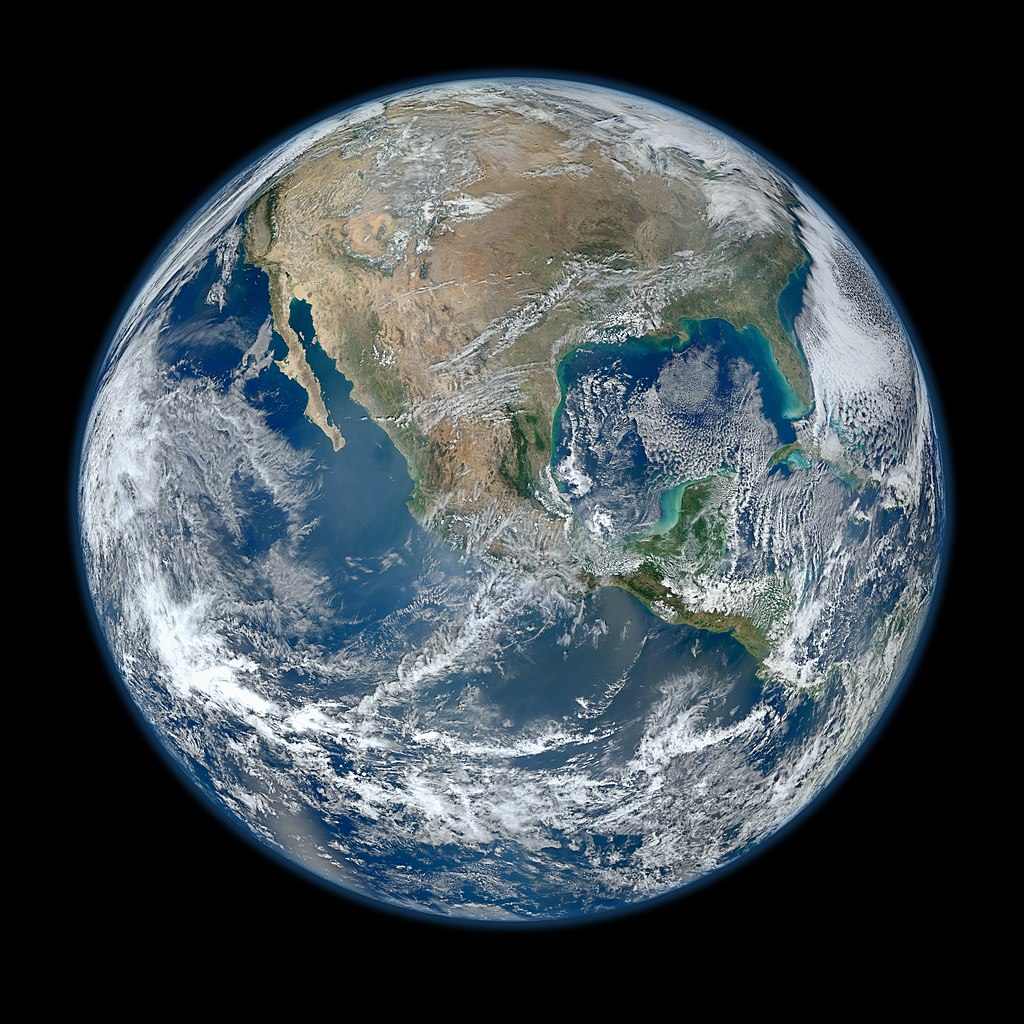 The Blue Marble from https://en.wikipedia.org/wiki/The_Blue_Marble