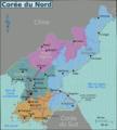 North Korea Regions Map (fr).png