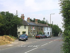 North Ockendon - Image: North Ockendon Village geograph.org.uk 22346