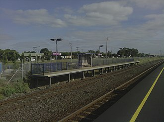 North Shore railway station - Image: North Shore Station Platform 3