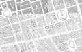 North of Oxford Street Ordnance Survey map 1920s.png