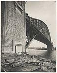 North pylon Sydney Harbour Bridge, 1932 (8283765062).jpg