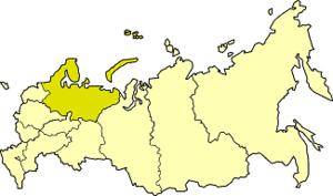 Northern economic region (Russia) - Image: Northern economic region