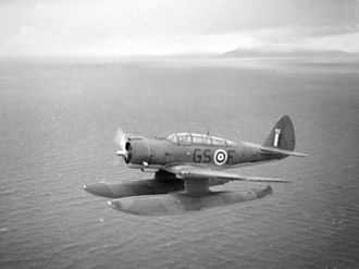 No. 330 Squadron RNoAF - One of the Northrop N-3PB torpedo bombers of 330 Squadron