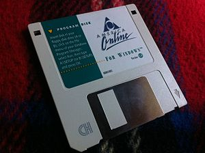 AOL - America Online 2.0 software for Microsoft Windows (1994)