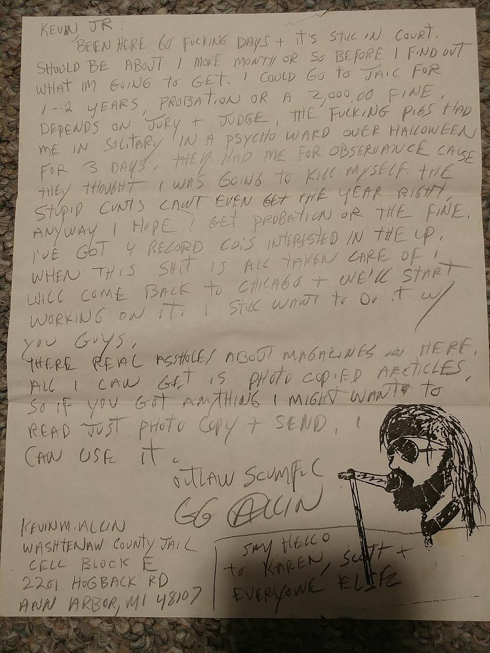 Nov 1989 Letter.