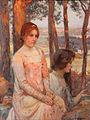Numa-François Gillet Zwei Mädchen im Wald.jpg