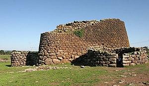 History of Sardinia - Nuraghe Losa