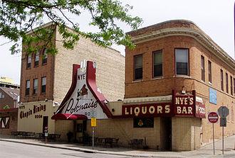 Northeast, Minneapolis - Nye's Polonaise Room, a longtime polka bar, now defunct.