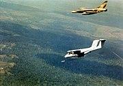 OV-10A marking target for F-100D Vietnam 1969