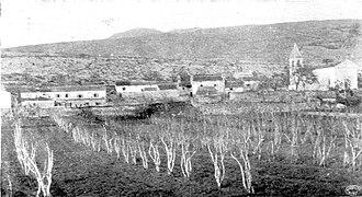 Istro-Romanians - Old view of Suseni (Šušnjevica) in 1906.