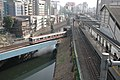 Ochanomizu Station and Kanda River 20070304.jpg