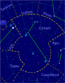 Octans constellation map-fr.png