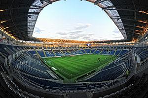 Ukrainian Super Cup - Chornomorets Stadium, main arena of the tournament