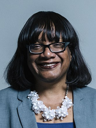 Shadow Home Secretary - Image: Official portrait of Ms Diane Abbott crop 2