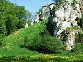 Ojcowski Park Narodowy Ruined Castle.jpg