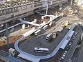 Okayama station bus terminal.jpg
