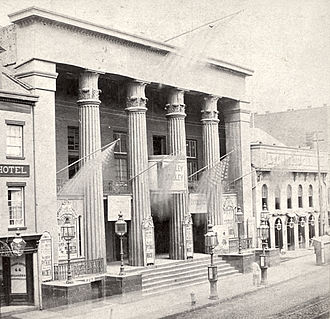 Bowery Theatre - Bowery Theatre in July 1867