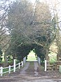 Old entrance to Thickbroom Farm - geograph.org.uk - 323353.jpg