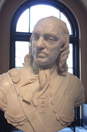 Joseph Wilton - Oliver Cromwell by Joseph Wilton, 1762, Victoria and Albert Museum