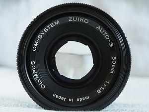 Olympus OM system - Olympus Zuiko OM 50 mm f/1.8