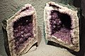 Opened amethyst geode in Crystal Mountain Museum.jpg