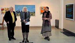 Opening of an exhibition of Leonid Shchemelyov 28.12.2013 01.jpg