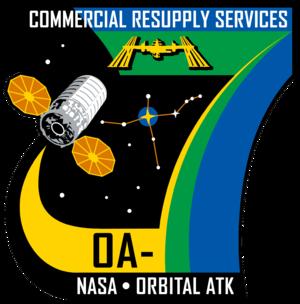 Cygnus CRS OA-7 - Image: Orbital Sciences CRS Flight 7 Patch