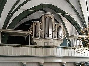 Jürgen Ahrend - Image: Orgel der Larrelter Kirche, Ostfriesland