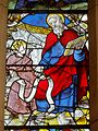 Orrouy (60), église Saint-Rémi, verrière n° 2 dite de l'autel St-Joseph - saint Matthieu.JPG