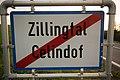 Ortsfafel Zillingtal-Celindof (V), zweisprachig (Deutsch und Kroatisch).jpg