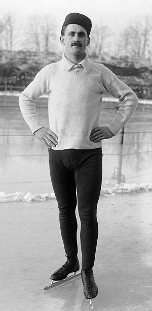 Oscar Mathisen - Mathisen in 1909