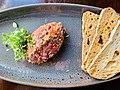 Osteria Epoca Cafe Bar, Yeronga, Queensland, Steak tartare.jpg