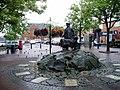 Oswestry - street statue - geograph.org.uk - 65502.jpg